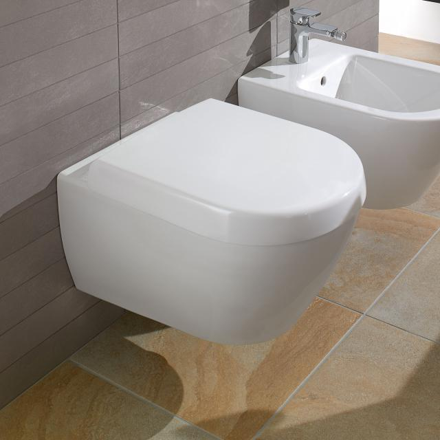 Villeroy & Boch Subway 2.0 Wand-Tiefspül-WC weiß, mit CeramicPlus