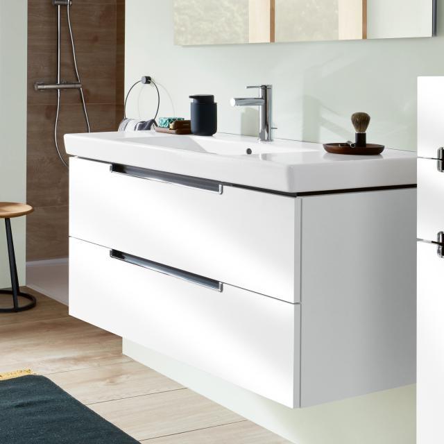 Villeroy & Boch Subway 2.0 Waschtisch mit Waschtischunterschrank XL mit 2 Auszügen