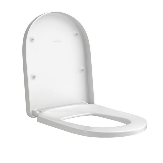 Villeroy & Boch Subway 2.0 WC-Sitz Comfort, abnehmbar, mit Absenkautomatik