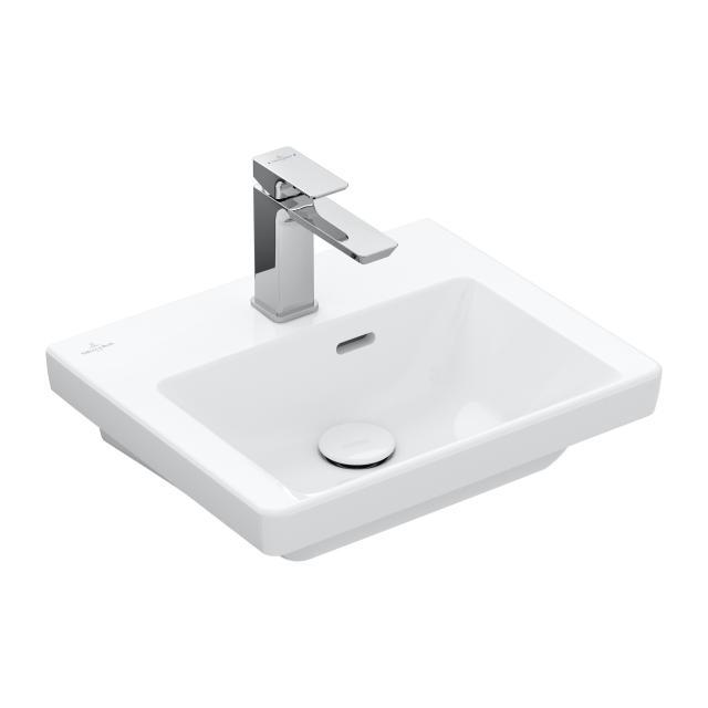 Villeroy & Boch Subway 3.0 Handwaschbecken weiß, mit CeramicPlus, mit Überlauf