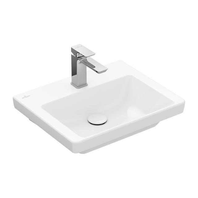 Villeroy & Boch Subway 3.0 Handwaschbecken weiß, mit CeramicPlus, ohne Überlauf