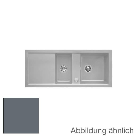 Villeroy & Boch Subway 80 Spüle graphit/Position Lochbohrungen 1 und 2