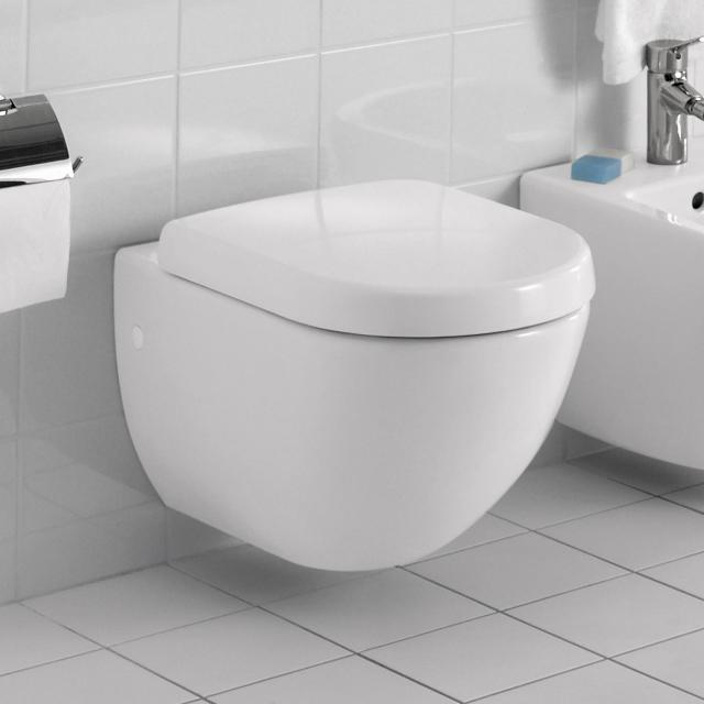Villeroy & Boch Subway Wand-Tiefspül-WC weiß, mit CeramicPlus