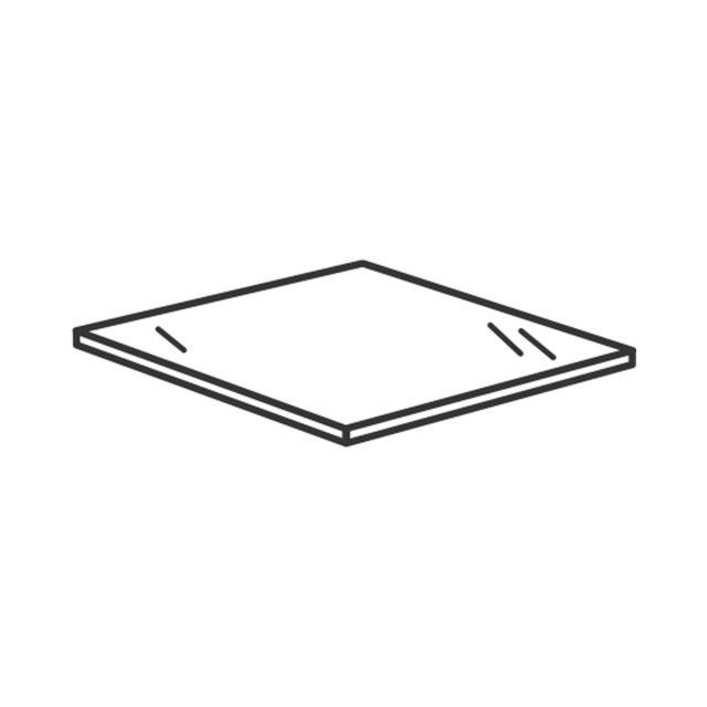 Villeroy & Boch Venticello Glasabdeckplatte glossy grey
