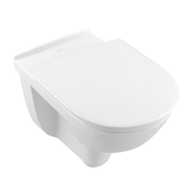 Villeroy & Boch ViCare Wand-Tiefspül-WC offener Spülrand, DirectFlush weiß, mit CeramicPlus
