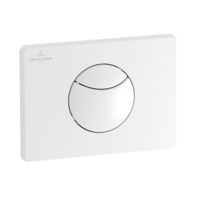 Villeroy & Boch ViConnect E100 WC-Betätigungsplatte weiß