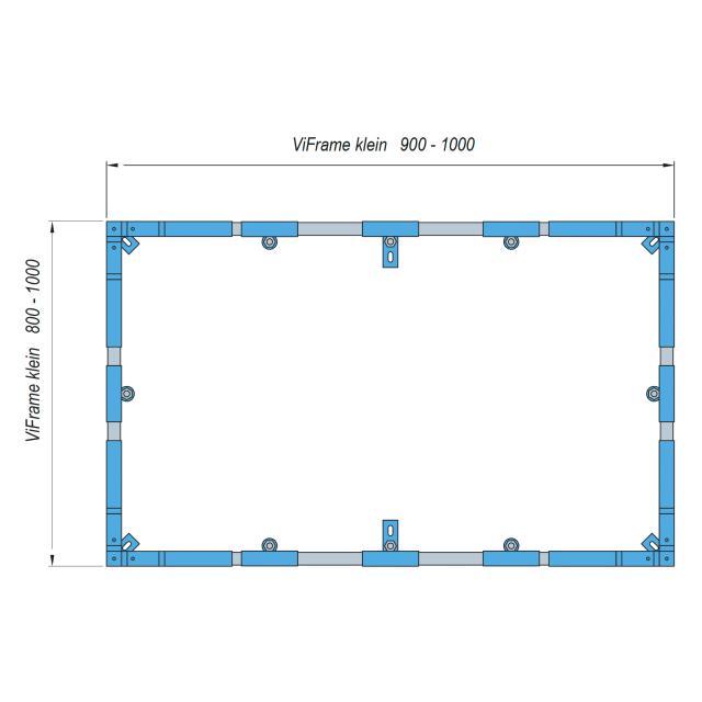 Villeroy & Boch ViFrame für kleinere Duschwannen