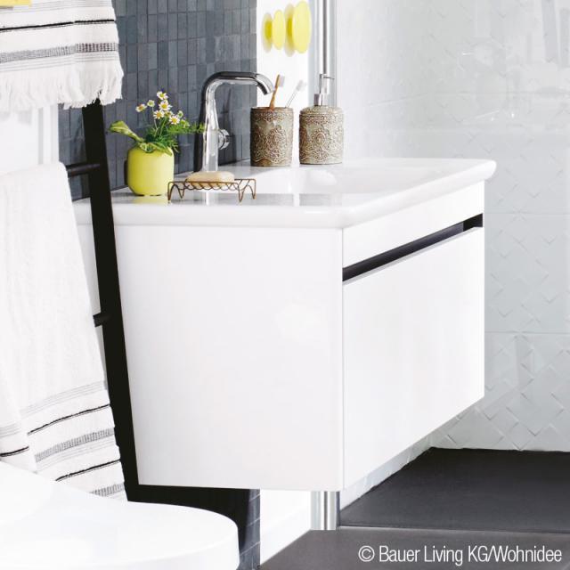 Villeroy & Boch Vivia Waschtischunterschrank mit 1 Auszug glossy white