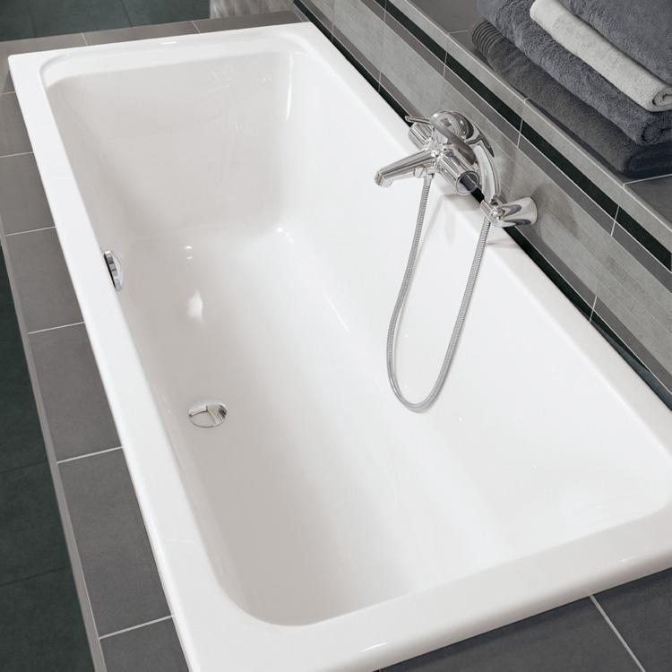 Villeroy boch architectura duo rechteck badewanne wei for Villeroy und boch badewanne