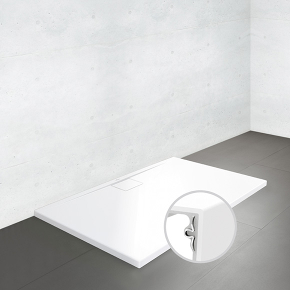 villeroy boch architectura metalrim duschwanne flach randh he 4 8 cm wei uda1290ara248v 01. Black Bedroom Furniture Sets. Home Design Ideas