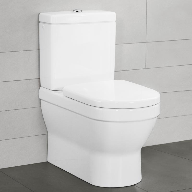Stand Wc Mit Spülkasten Villeroy Boch villeroy boch architectura stand tiefspül wc für kombination weiß