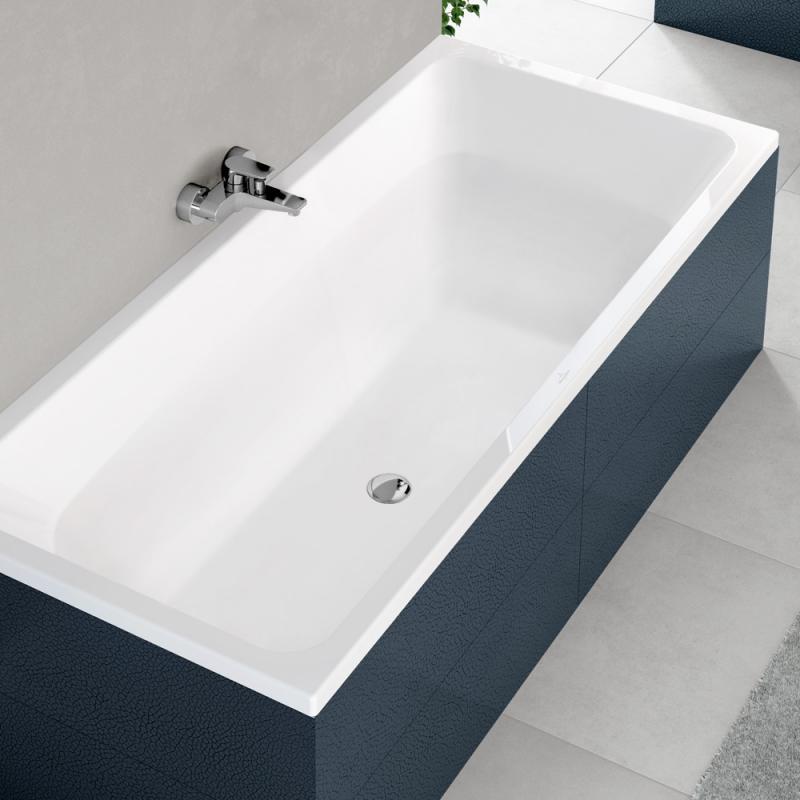 Villeroy boch avento duo rechteck badewanne wei for Villeroy und boch badewanne