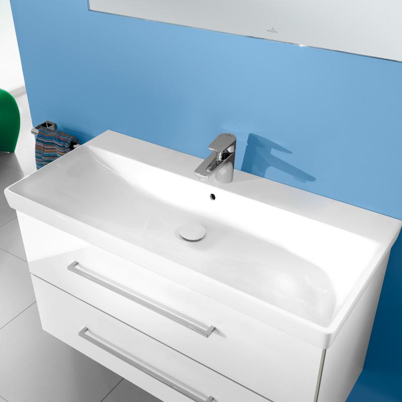 Villeroy & Boch Avento Möbelwaschtisch weiß mit Ceramicplus ...