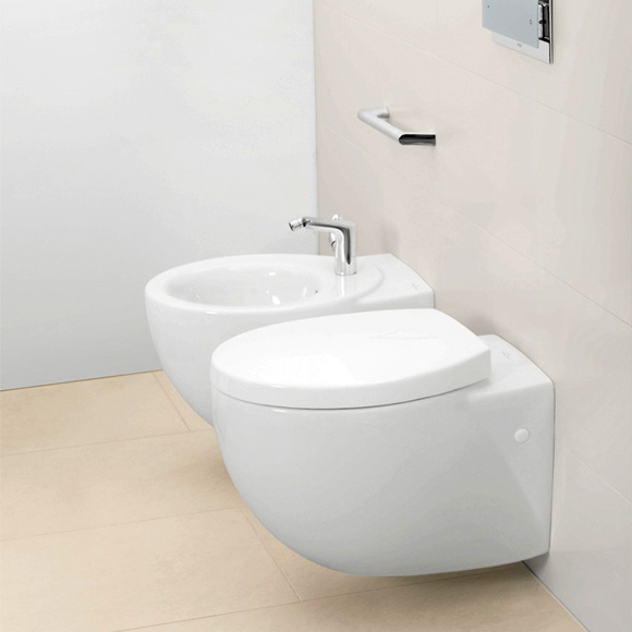 Turbo Villeroy & Boch Aveo New Generation Tiefspülwand-WC weiß mit  YW07