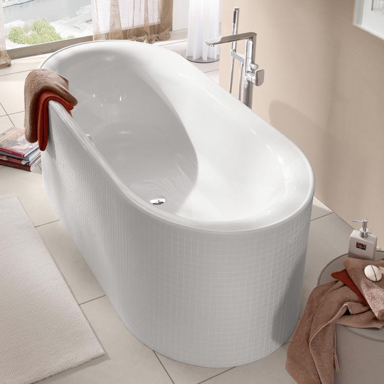 villeroy boch cetus ovale badewanne wei ubq175ceu7v 01 reuter. Black Bedroom Furniture Sets. Home Design Ideas