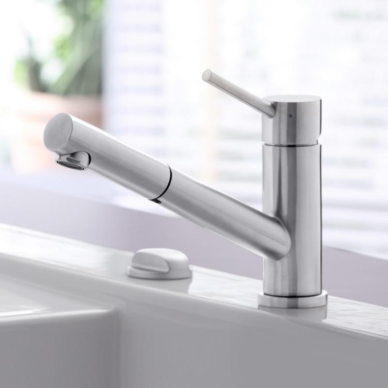 Villeroy & Boch Como Shower Einhand-Spültischbatterie edelstahl ...