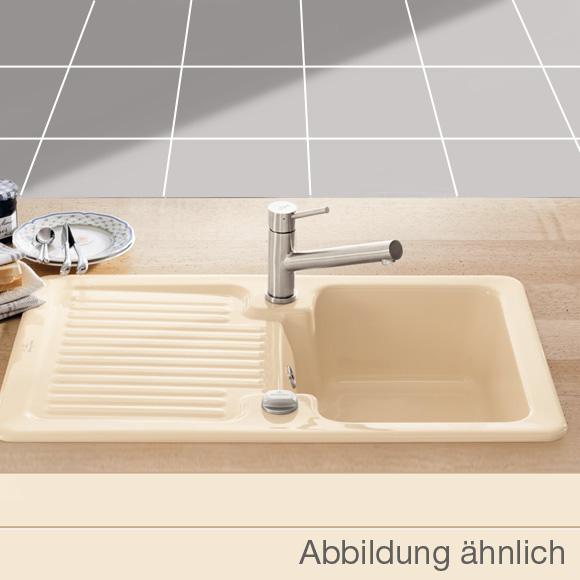 Villeroy & Boch Condor 45 Spüle mit Excenterbetätigung B: 80 T: 51 ... | {Spülbecken keramik villeroy & boch 40}