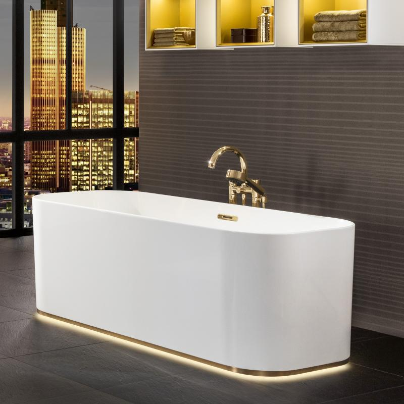 villeroy boch finion freistehende badewanne mit emotion. Black Bedroom Furniture Sets. Home Design Ideas