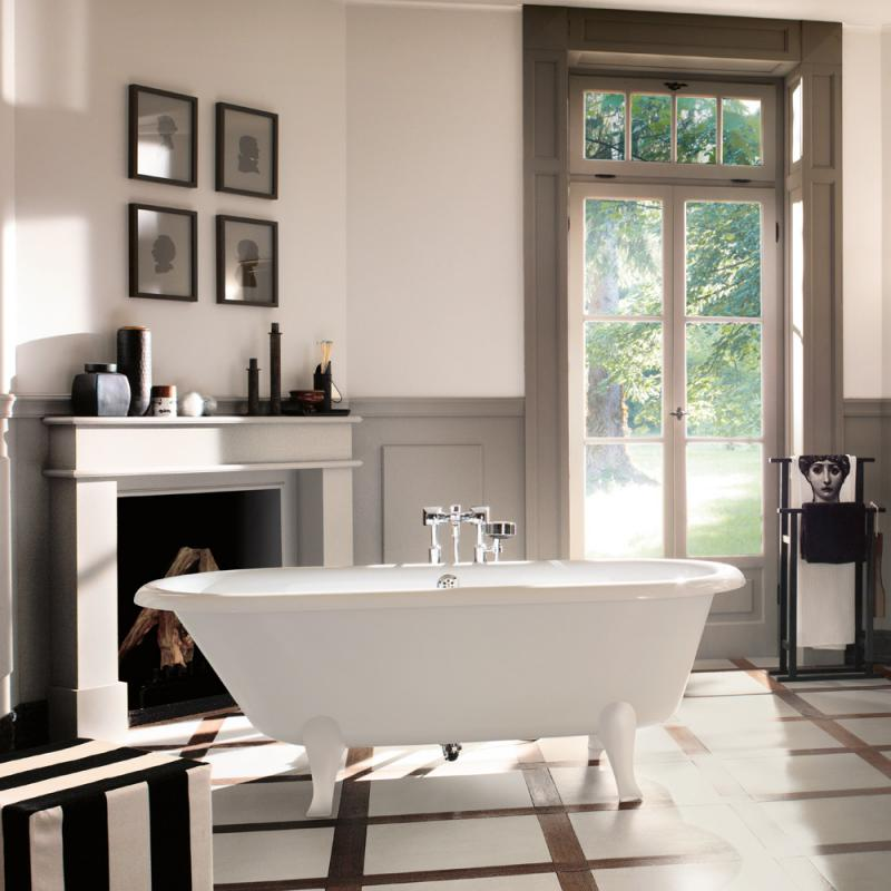 villeroy boch hommage duo freistehende badewanne wei ubq180hom7w0v 01 reuter. Black Bedroom Furniture Sets. Home Design Ideas