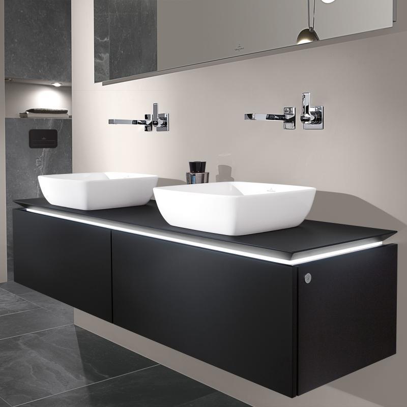 villeroy boch legato led waschtischunterschrank f r 2. Black Bedroom Furniture Sets. Home Design Ideas