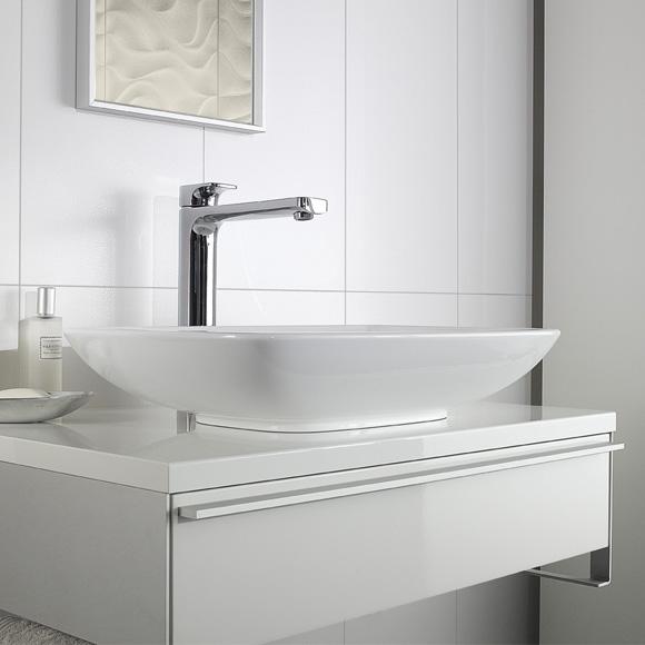 villeroy boch loop friends aufsatzwaschtisch eckig wei mit berlauf 51540001 reuter. Black Bedroom Furniture Sets. Home Design Ideas