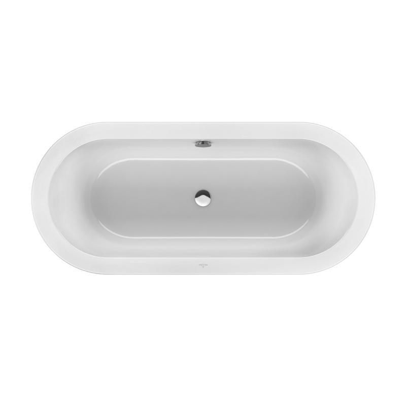Villeroy boch loop friends duo freistehende ovale badewanne wei uba180lfo7pdv 01 reuter - Freistehende badewanne villeroy boch ...