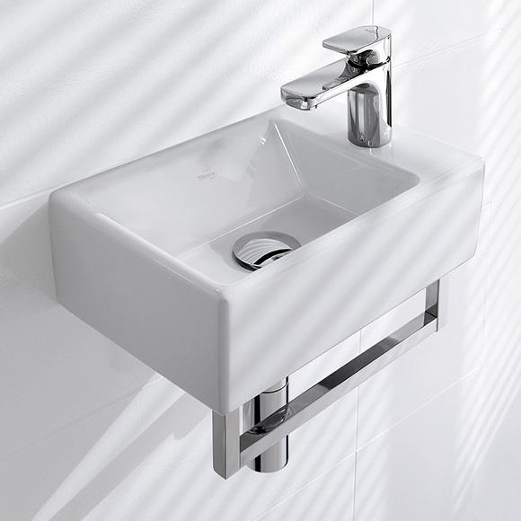 villeroy boch memento handwaschbecken wei mit ceramicplus 533341r1 reuter. Black Bedroom Furniture Sets. Home Design Ideas