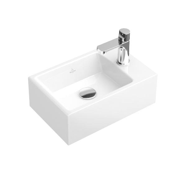 villeroy boch memento m bel handwaschbecken wei mit ceramicplus 53334gr1 reuter. Black Bedroom Furniture Sets. Home Design Ideas