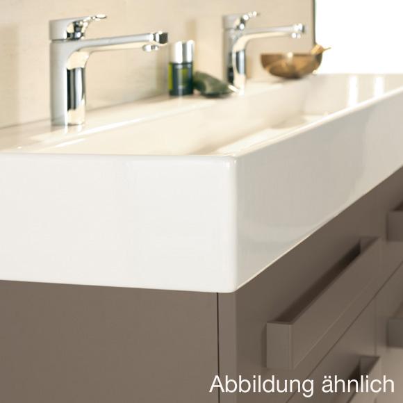 villeroy boch memento waschtisch starwhite ceramicplus mit 2 hahnl chern 5133a4r2 reuter. Black Bedroom Furniture Sets. Home Design Ideas