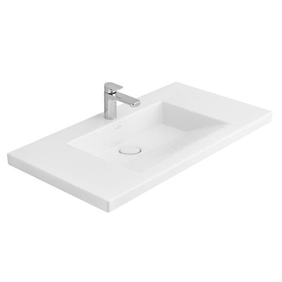 villeroy boch metric art schrankwaschtisch starwhite ceramicplus 519511r2 reuter. Black Bedroom Furniture Sets. Home Design Ideas