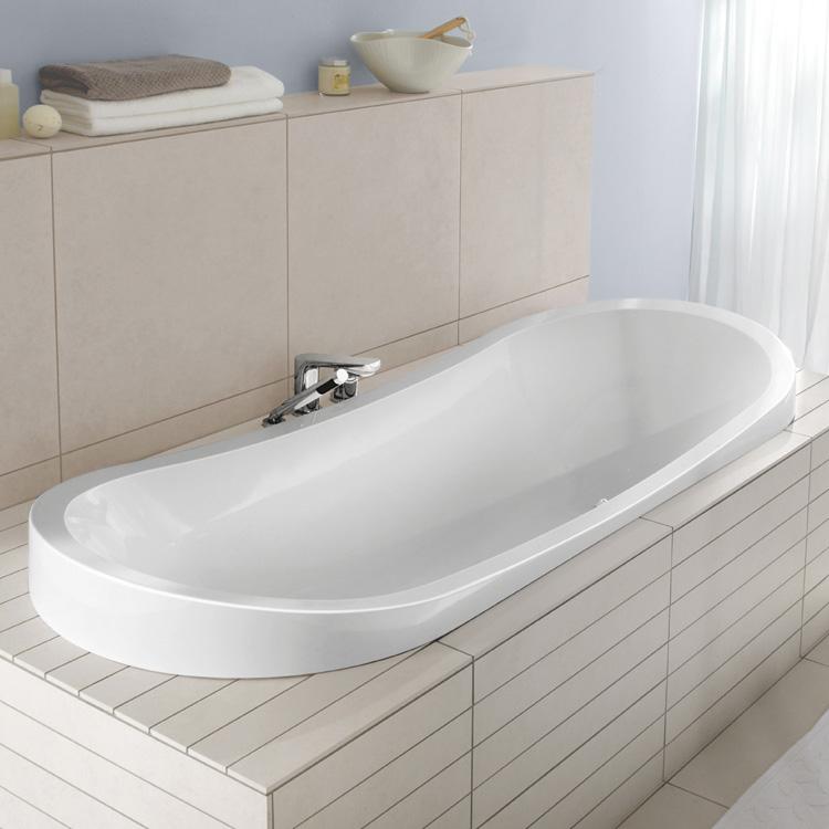 villeroy boch my nature duo ovale badewanne wei uba190nat7v 01 reuter. Black Bedroom Furniture Sets. Home Design Ideas
