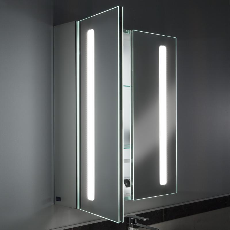 villeroy boch my view 14 spiegelschrank mit led beleuchtung dimmbar a4206000 reuter. Black Bedroom Furniture Sets. Home Design Ideas