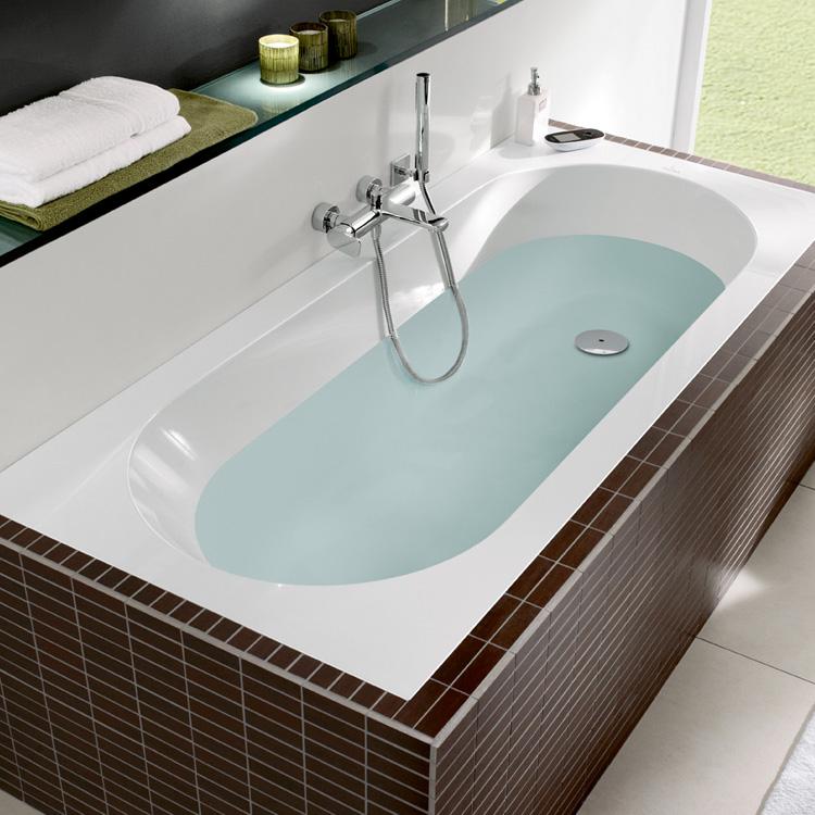 Villeroy boch oberon rechteck badewanne wei for Villeroy und boch badewanne