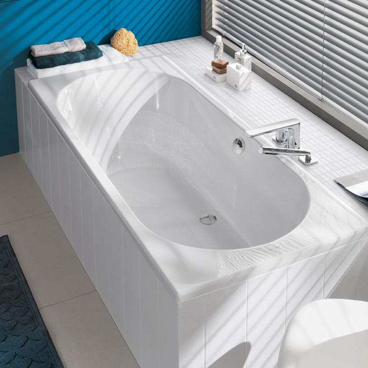 villeroy boch duo rechteck badewanne wei uba190cas2v 01 reuter. Black Bedroom Furniture Sets. Home Design Ideas