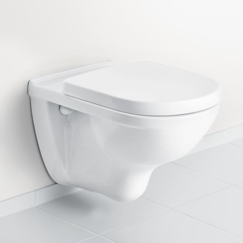 Neu Villeroy & Boch O.novo Wand-Tiefspül-WC, offener Spülrand  TN87