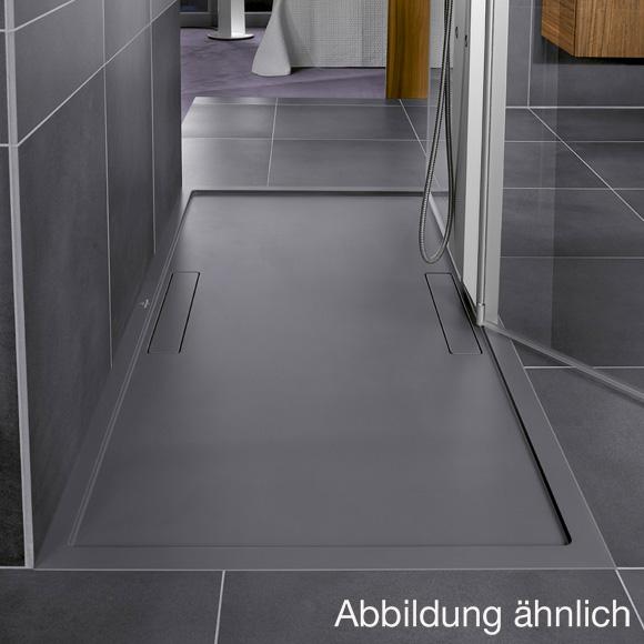 Villeroy & Boch Squaro Rechteck-Duschwanne grau matt ...