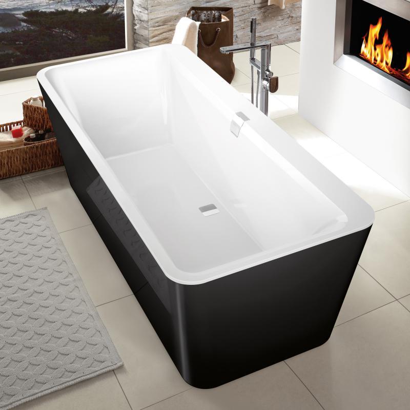 villeroy boch squaro edge 12 freistehende badewanne wei. Black Bedroom Furniture Sets. Home Design Ideas
