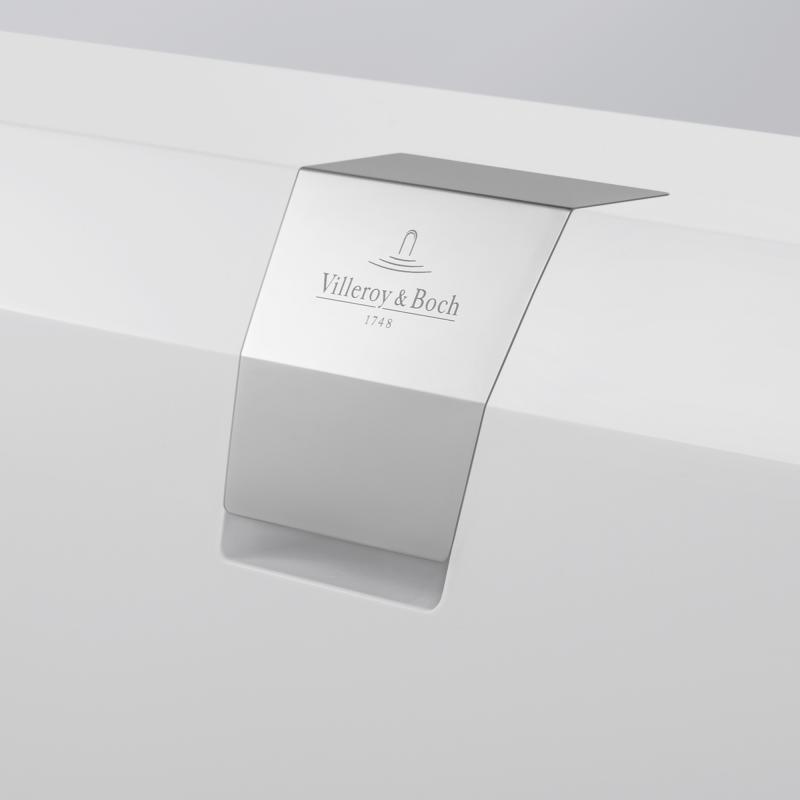 Villeroy Boch Squaro Edge 12 Rechteck Badewanne Weiß