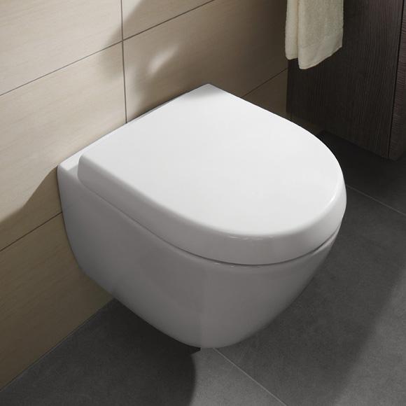 Innovativ Villeroy & Boch Subway 2.0 Compact WC-Sitz weiß mit Quick Release  ZU21