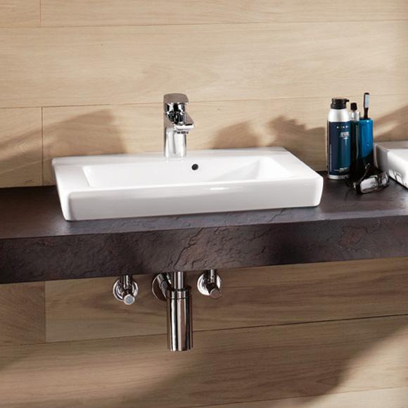 villeroy boch subway 2 0 halbeinbau handwaschbecken wei mit ceramicplus 73155gr1 reuter. Black Bedroom Furniture Sets. Home Design Ideas