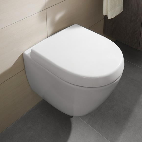 Sehr Gut Villeroy & Boch Subway 2.0 Tiefspül-Wand-WC Compact weiß mit  OK85