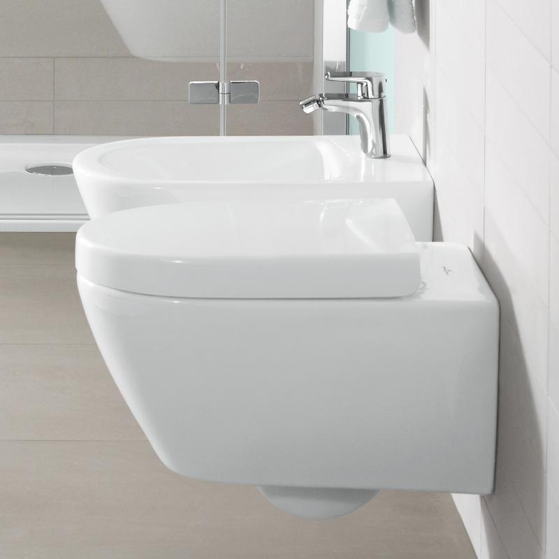 Villeroy & Boch Subway 2.0 Tiefspül-Wand-WC weiß mit CeramicPlus ...