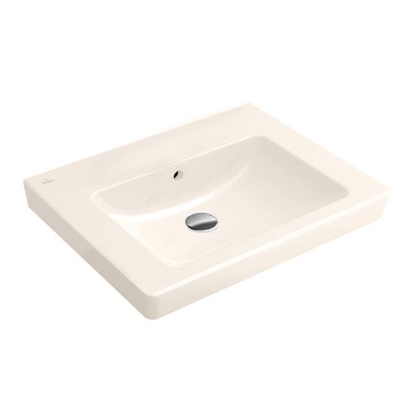 villeroy boch subway 2 0 waschtisch pergamon mit ceramicplus ohne hahnloch 711357r3 reuter. Black Bedroom Furniture Sets. Home Design Ideas