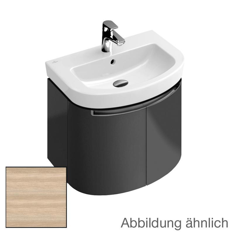 villeroy boch subway 2 0 waschtischunterschrank mit 2 t ren front ulme impresso korpus ulme. Black Bedroom Furniture Sets. Home Design Ideas
