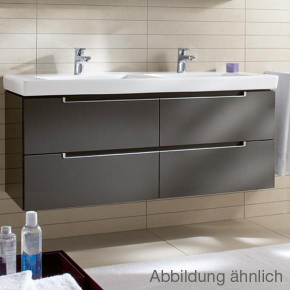 Villeroy & Boch Subway 2.0 Waschtischunterschrank XL für ... | {Doppelwaschtisch villeroy & boch 26}