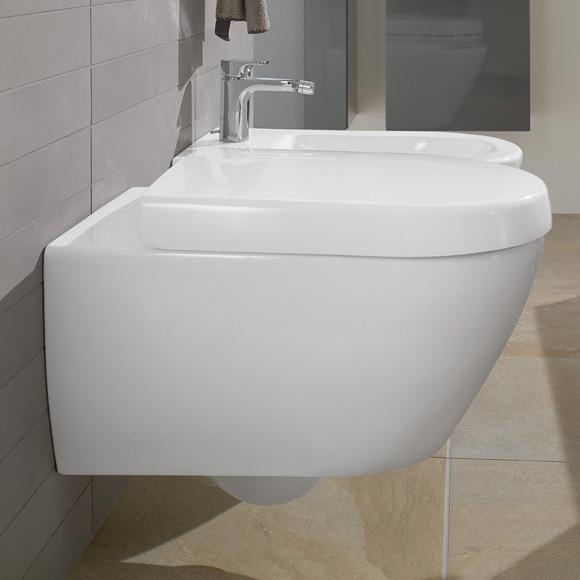 Gut bekannt Villeroy & Boch Subway 2.0 WC-Sitz, abnehmbar weiß, mit HM74