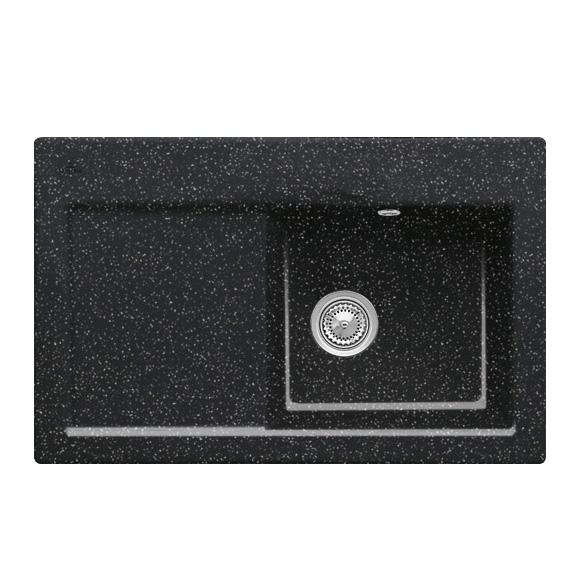 villeroy boch subway 45 sp le mit handbet tigung b 78 t 51 cm becken rechts chromit glanz. Black Bedroom Furniture Sets. Home Design Ideas