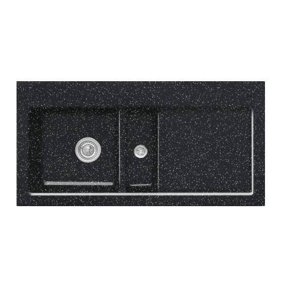 villeroy boch subway 60 sp le mit handbet tigung b 100 t 51 cm becken links chromit glanz. Black Bedroom Furniture Sets. Home Design Ideas