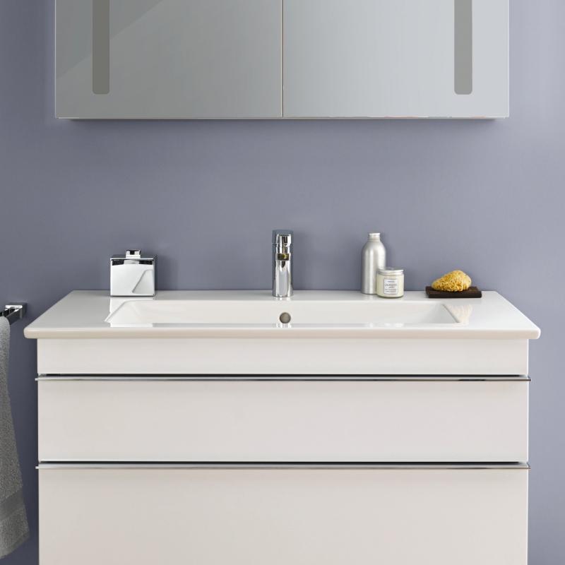 villeroy boch venticello schrankwaschtisch wei mit 1 hahnloch durchgestochen 4104al01 reuter. Black Bedroom Furniture Sets. Home Design Ideas