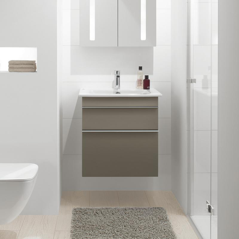 villeroy boch venticello waschtisch wei mit 1 hahnloch durchgestochen 41246001 reuter. Black Bedroom Furniture Sets. Home Design Ideas
